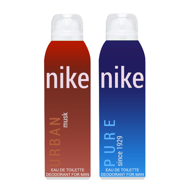 Nike Urban Musk And Pure Pack of 2 Deodorants