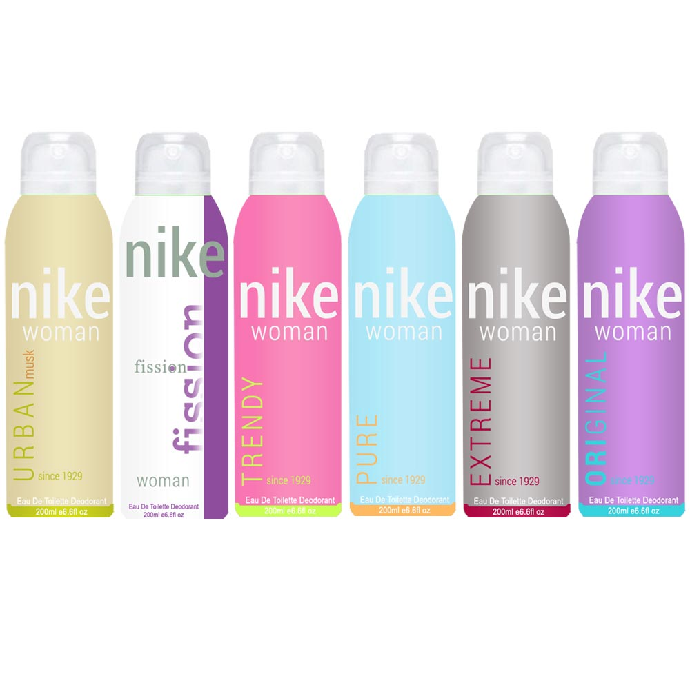 Nike Urban Musk Trendy Pure Original Extreme Fission Pack of 6 Deodorants