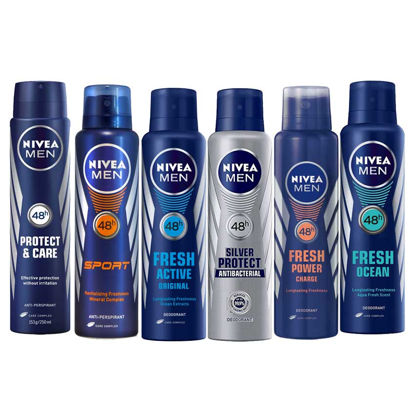 Nivea Value Pack Of 6 Deodorants