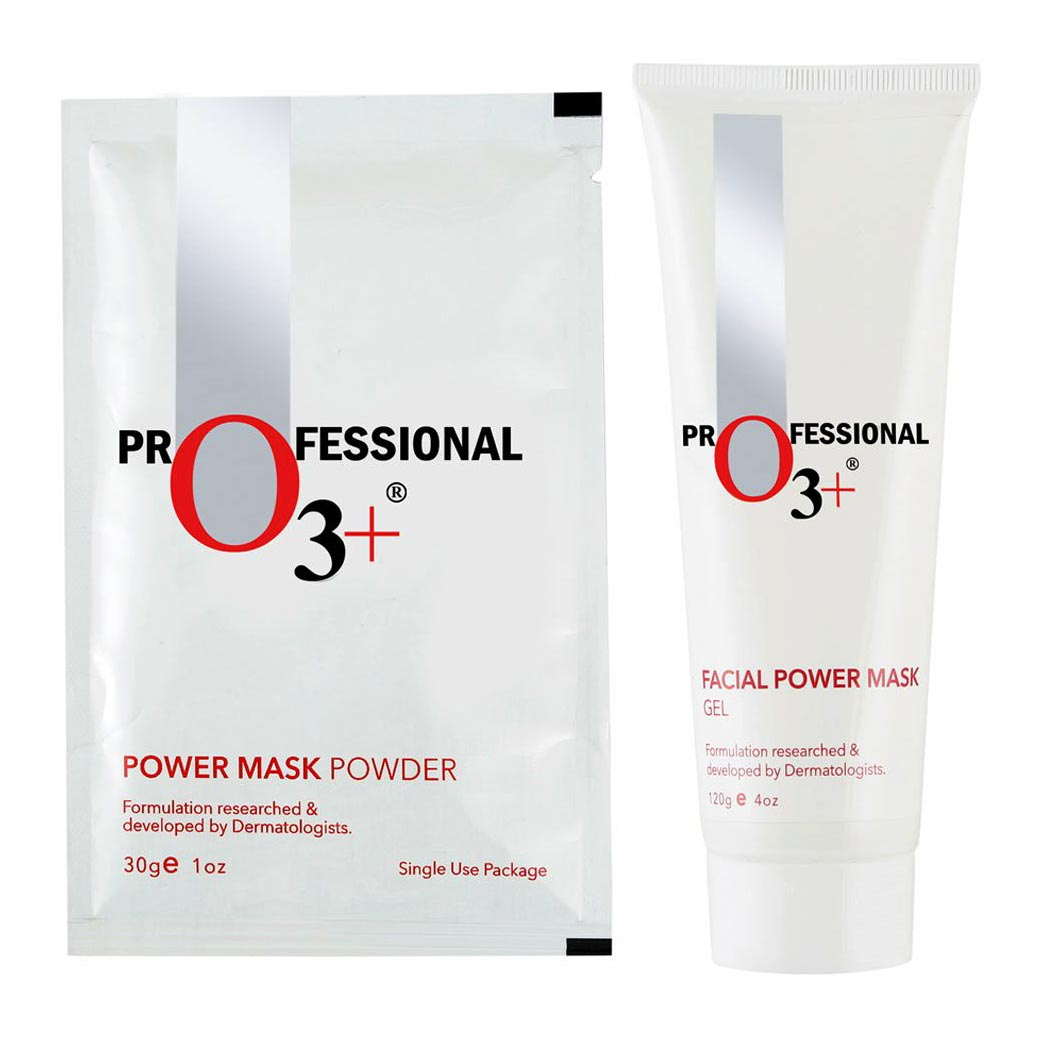 O3 Plus Whitening and Brightening Facial Power Mask (Gel and Powder) 2010