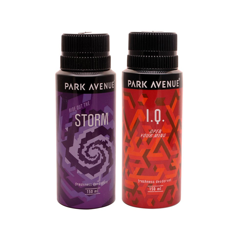 Park Avenue IQ, Storm Pack of 2 Deodorants