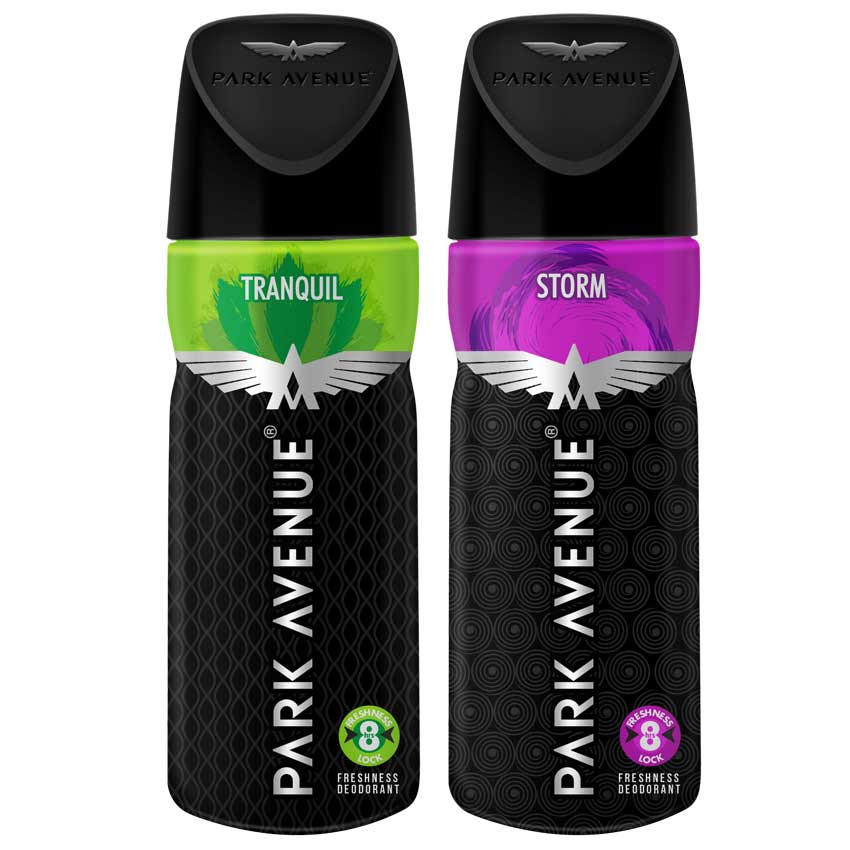 Park Avenue Storm, Tranquil Pack of 2 Deodorants