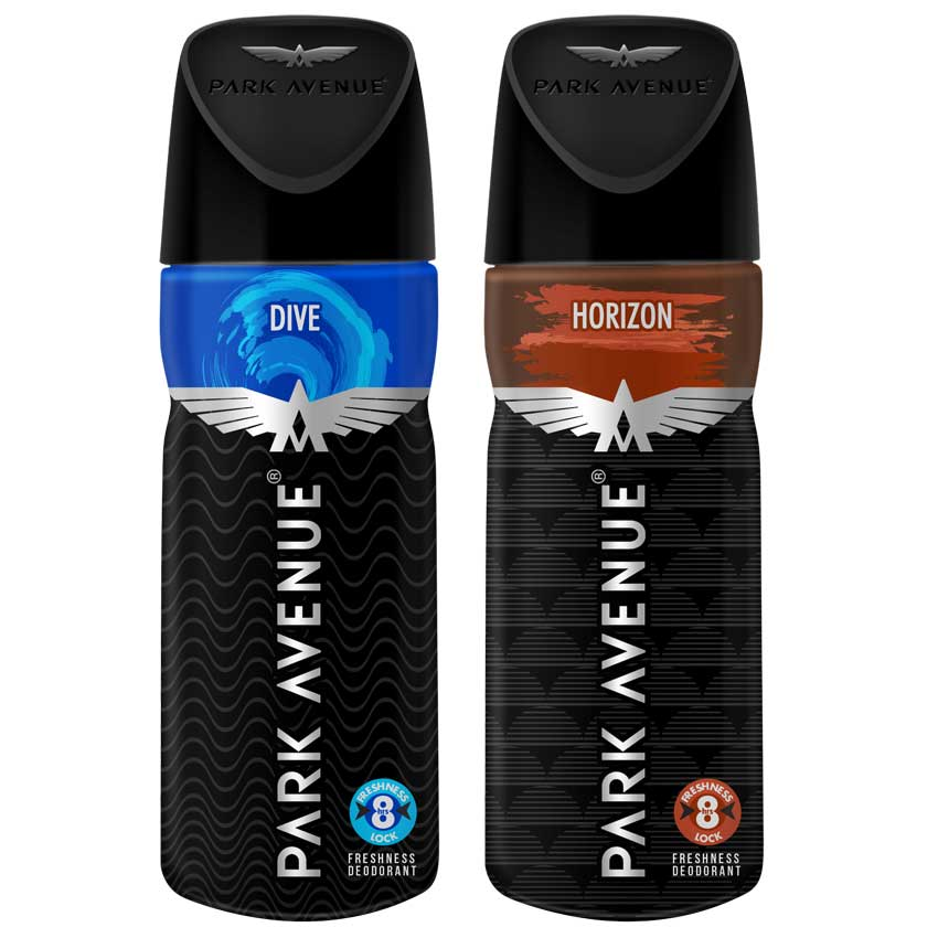 Park Avenue Horizon And Dive Pack of 2 Deodorants
