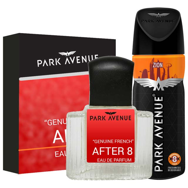 Park Avenue Combo of After 8 Perfume, Zion Deodorant