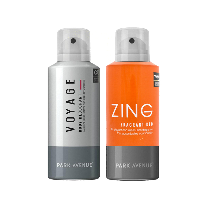 Park Avenue Zing, Voyage Pack of 2 Deodorants