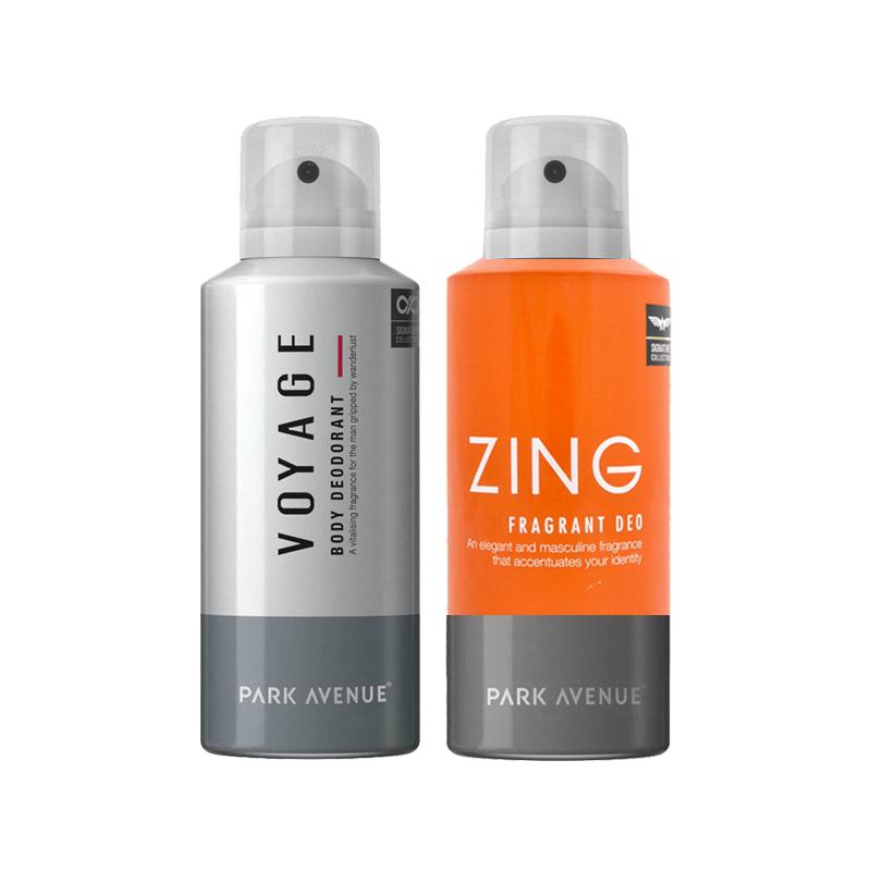 Park Avenue Zing, Voyage Pack of 2 Deodorants