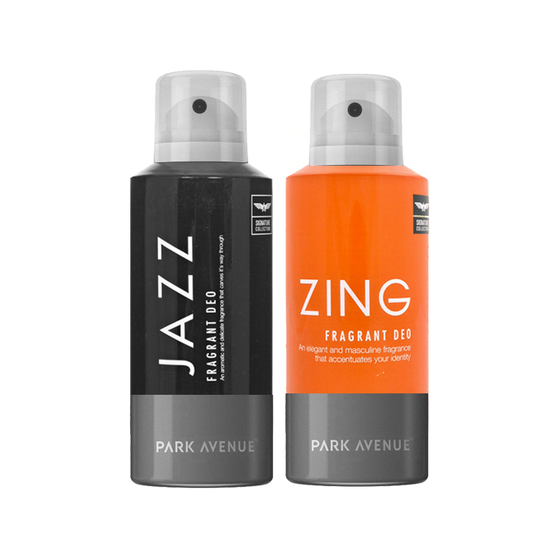 Park Avenue Jazz, Zing Pack of 2 Deodorants
