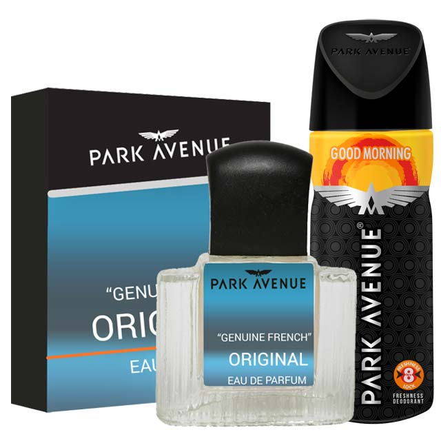 Park Avenue Combo of Original Perfume, Good Morning Deodorant