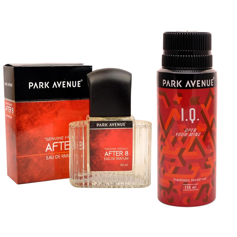 Park Avenue Combo of After 8 Perfume, IQ Deodorant