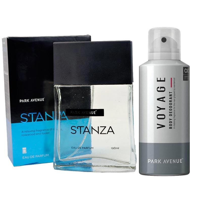 Park Avenue Combo of Stanza Perfume, Voyage Deodorant