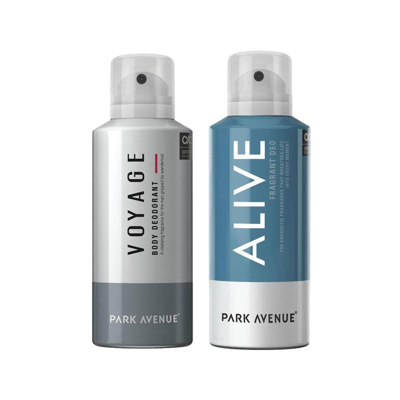 Park Avenue Voyage, Alive Pack of 2 Deodorants