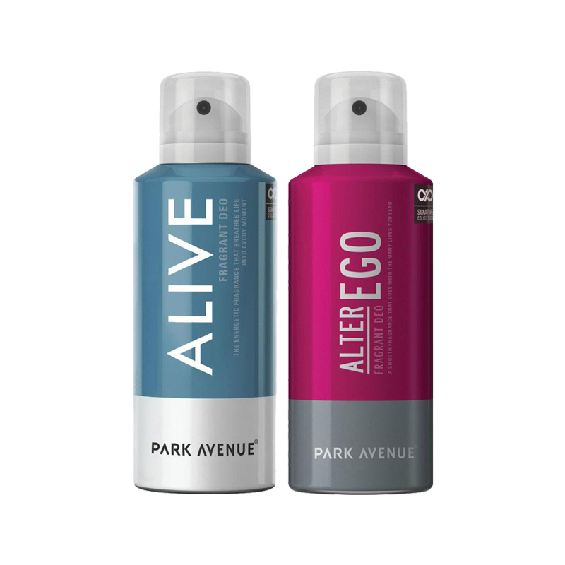Park Avenue Alive, Alter Ego Pack of 2 Deodorants
