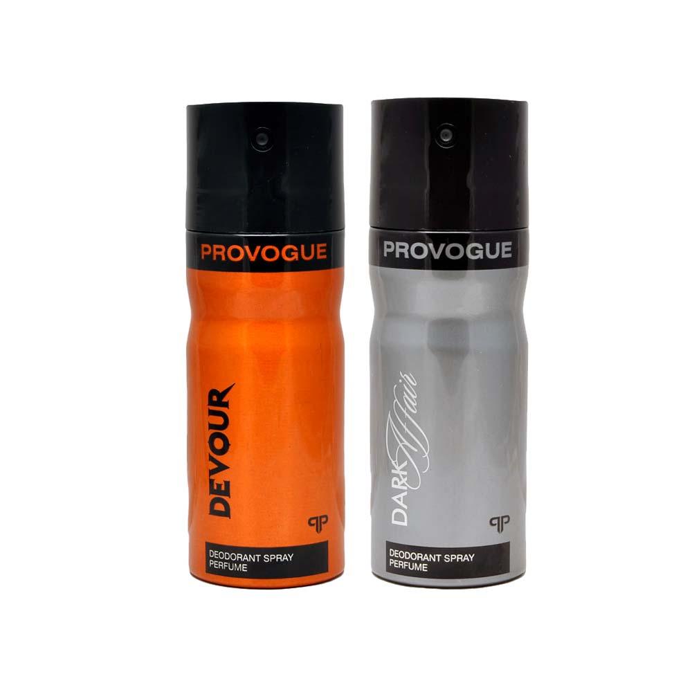 Provogue Dark Affair, Devour Pack of 2 Deodorants