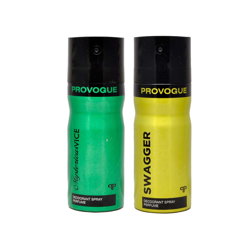 Provogue Mysterious Vice, Swagger Pack of 2 Deodorants
