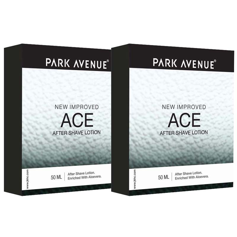 Park Avenue Ace Pack Of 2 After Shave Lotions