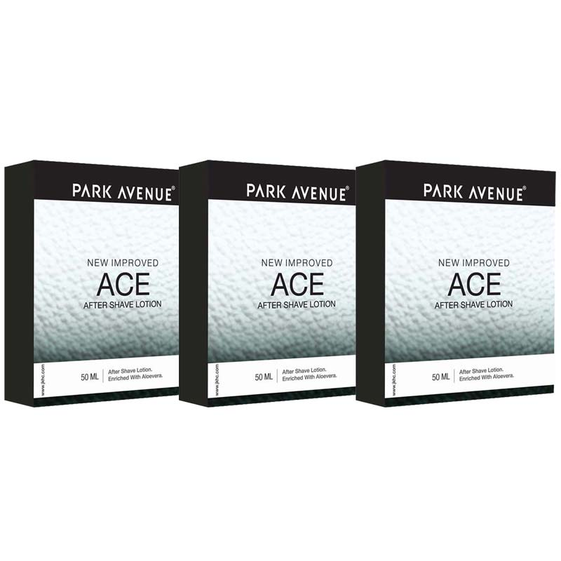 Park Avenue Ace Pack Of 3 After Shave Lotions