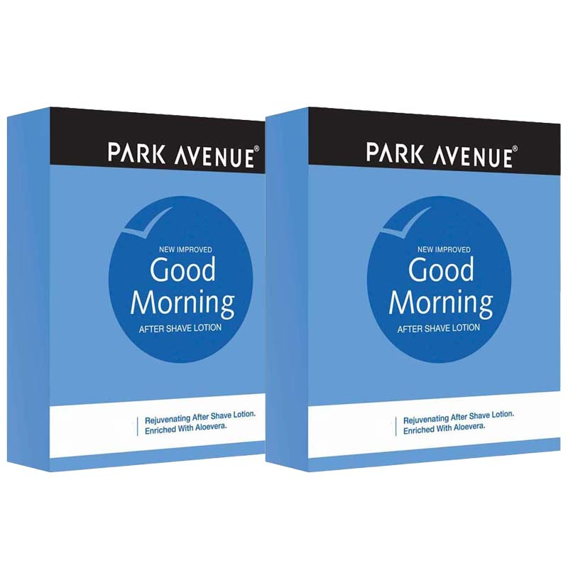 Park Avenue Good Morning Pack Of 2 After Shave Lotions
