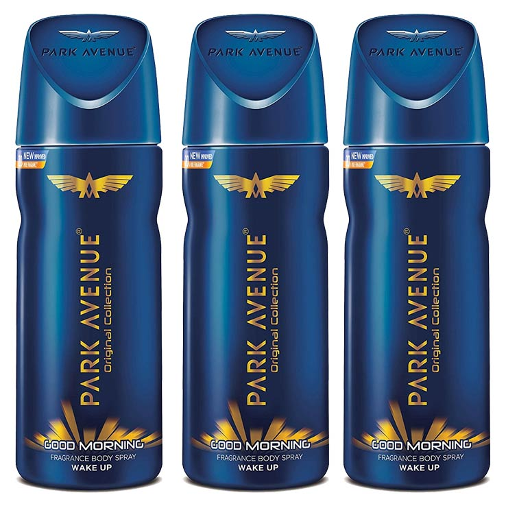 Park Avenue Good Morning Pack Of 3 Deodorants