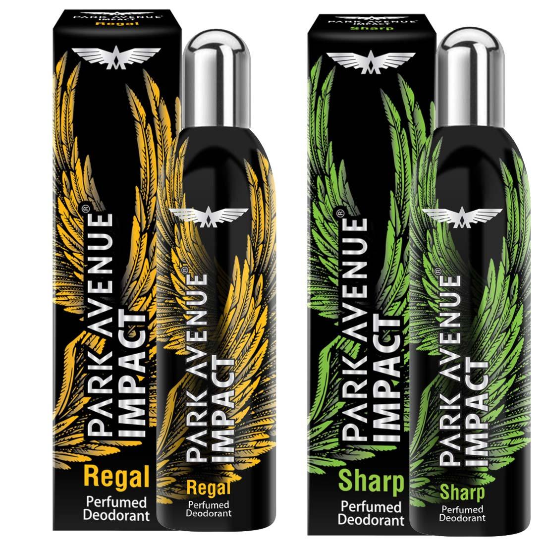 Park Avenue Impact Regal And Sharp Pack Of 2 Deodorants