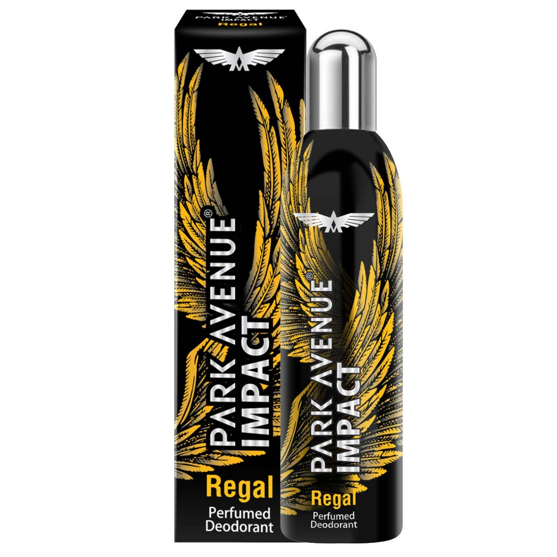 Park Avenue Impact Regal No Gas Deodorant With Fragrance Lock Technology