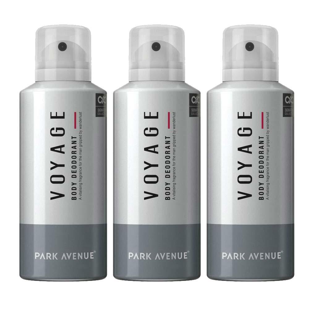 Park Avenue Pack Of 3 Voyage Deodorants