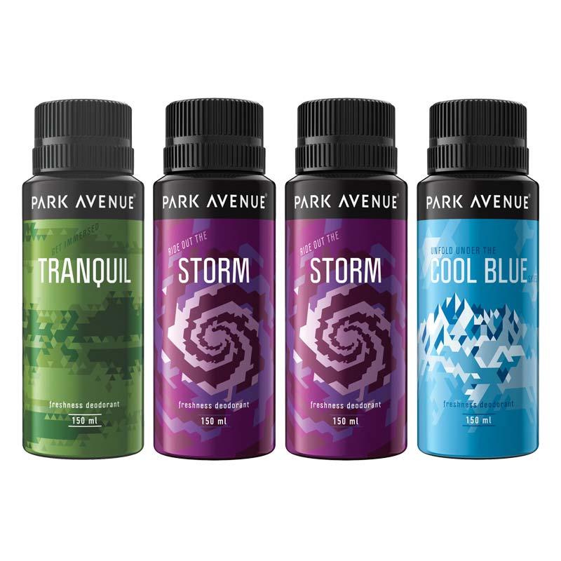 Park Avenue Value Pack Of 4 Deodorants