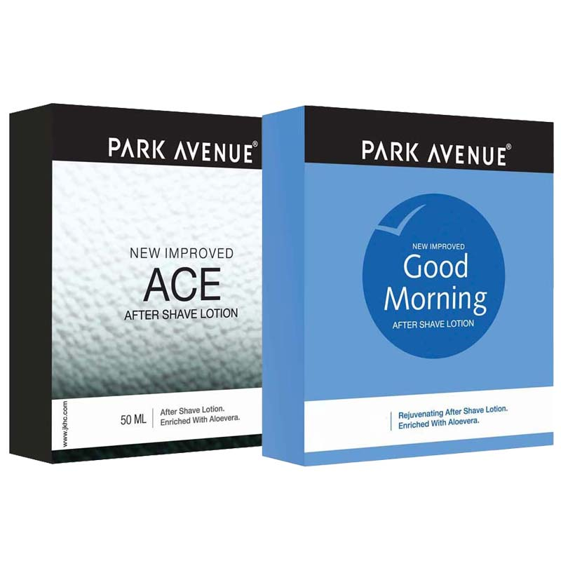 Park Avenue Ace And Good Morning Pack Of 2 After Shave Lotions