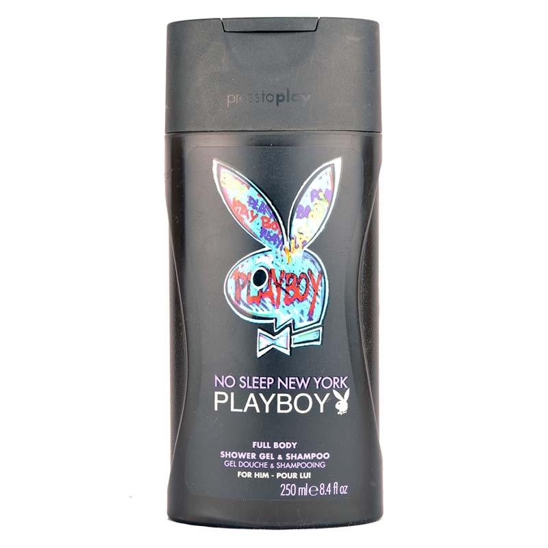 Playboy No Sleep New York Shower Gel and Shampoo