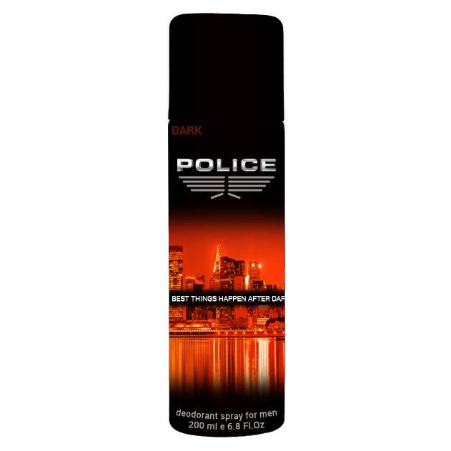 Police Dark Deodorant Spray