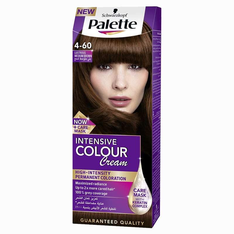 Schwarzkopf Palette Intensive Colour Cream Lustrous Medium Brown 4-60