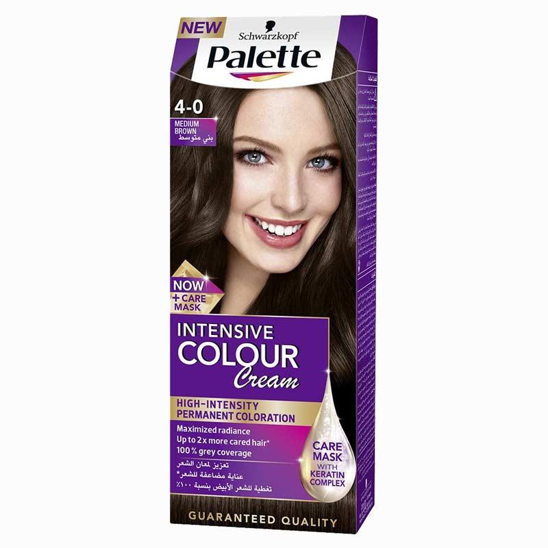 Schwarzkopf Palette Intensive Colour Cream Medium Brown 4-0