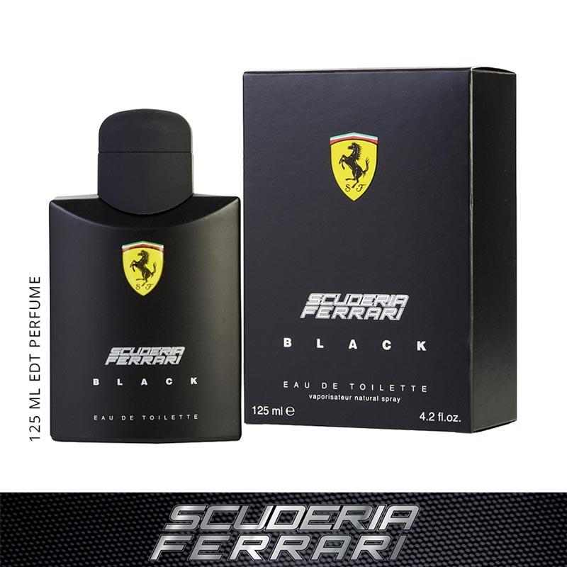 Scuderia Ferrari Black EDT Perfume Spray