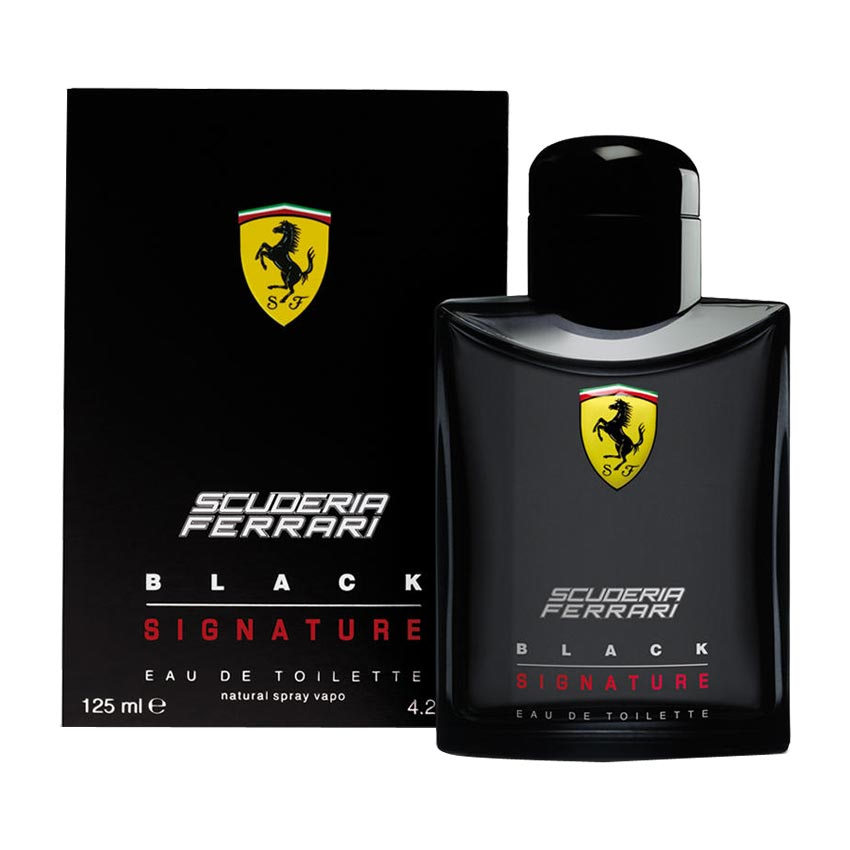 Scuderia Ferrari Black Signature EDT Perfume Spray