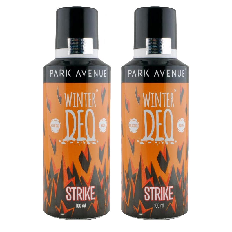 Park Avenue Set of 2 Strike Winter Moisturizing Deodorants