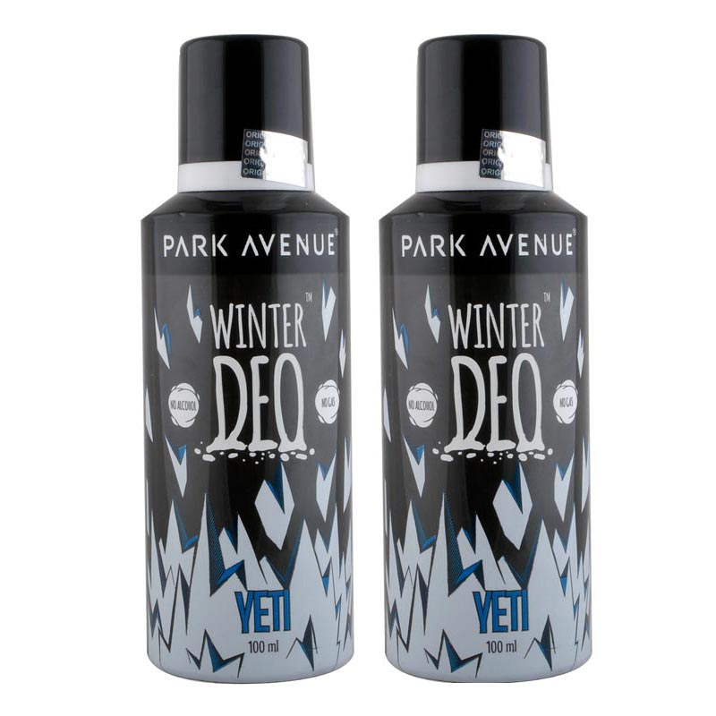 Park Avenue Set of 2 Yeti Winter Moisturizing Deodorants