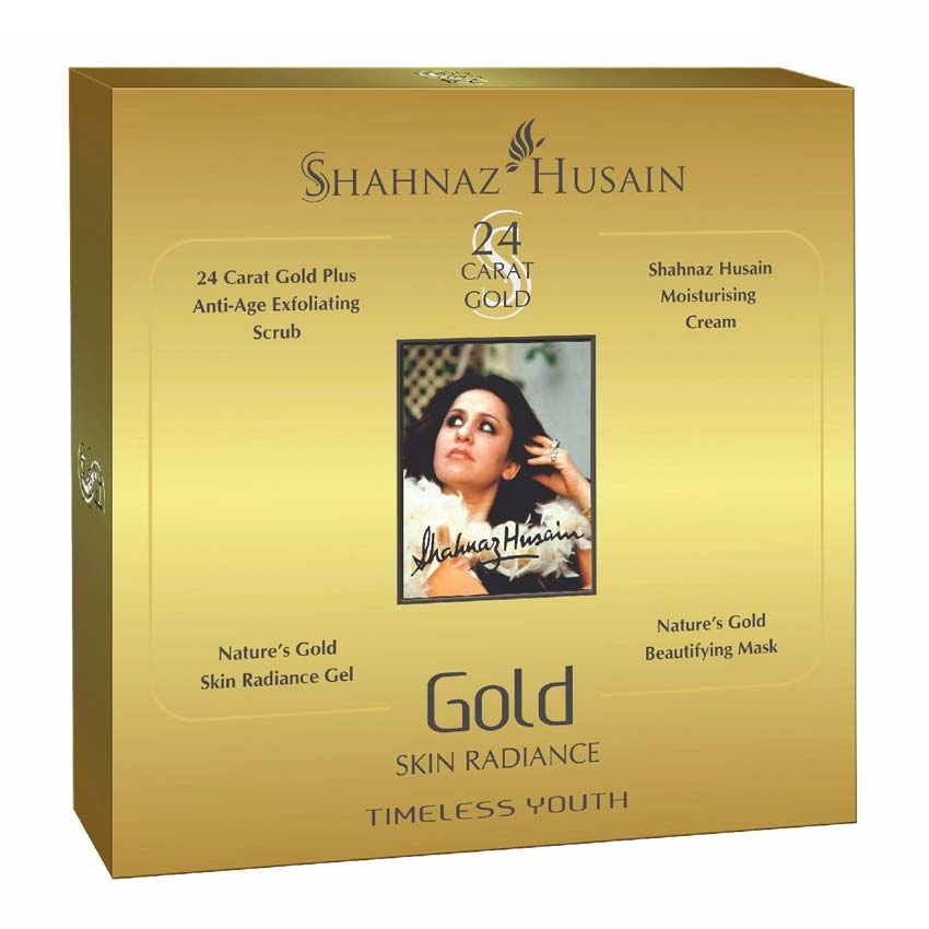 Shahnaz Husain Gold Skin Radiance Facial Kit