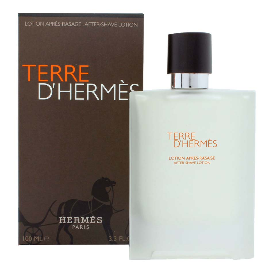 Terre D Hermes After Shave Lotion