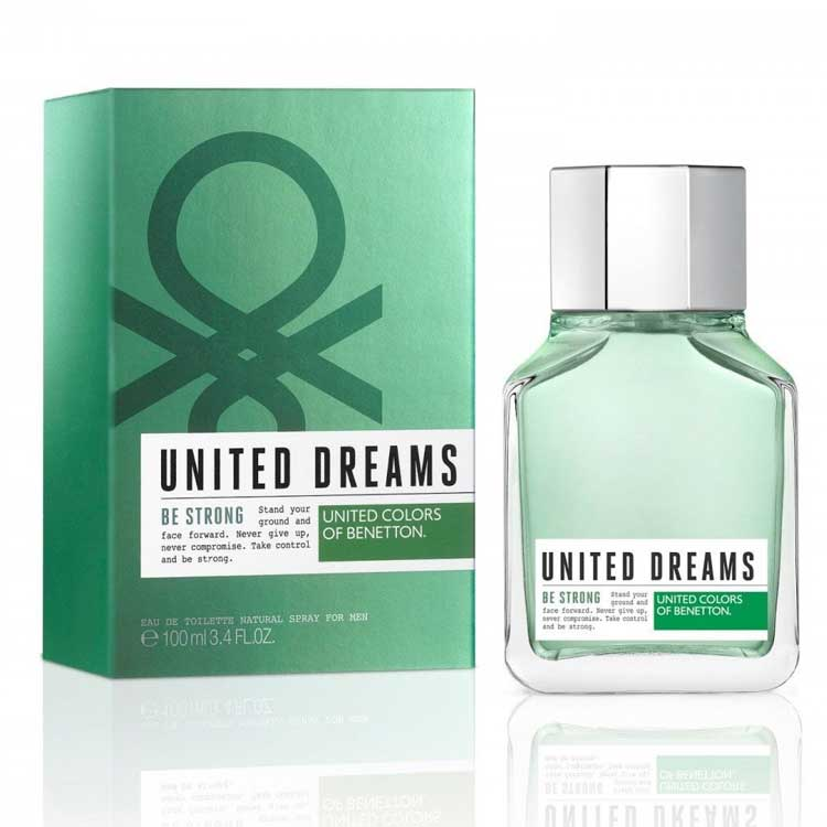 100 original united colors of benetton be strong edt for Benetton we are colors