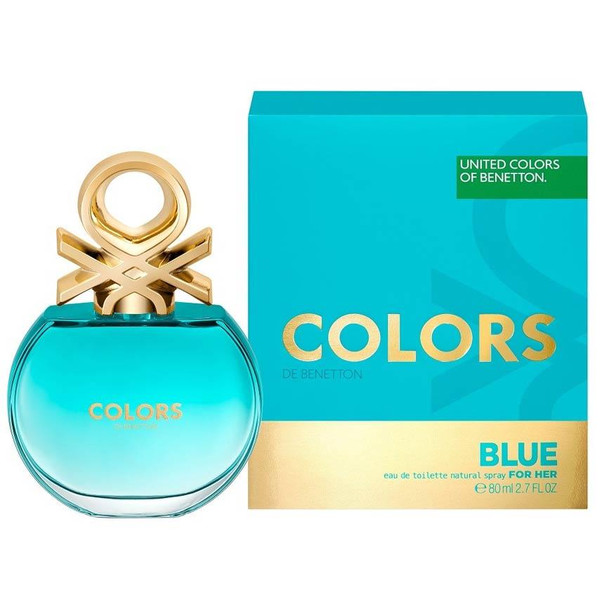 united colors of benetton colors de benetton blue edt