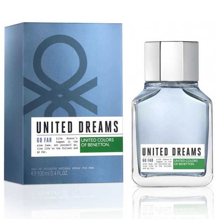United Colors Of Benetton Go Far EDT Perfume