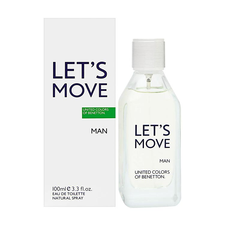 United Colors Of Benetton Lets Move EDT Perfume