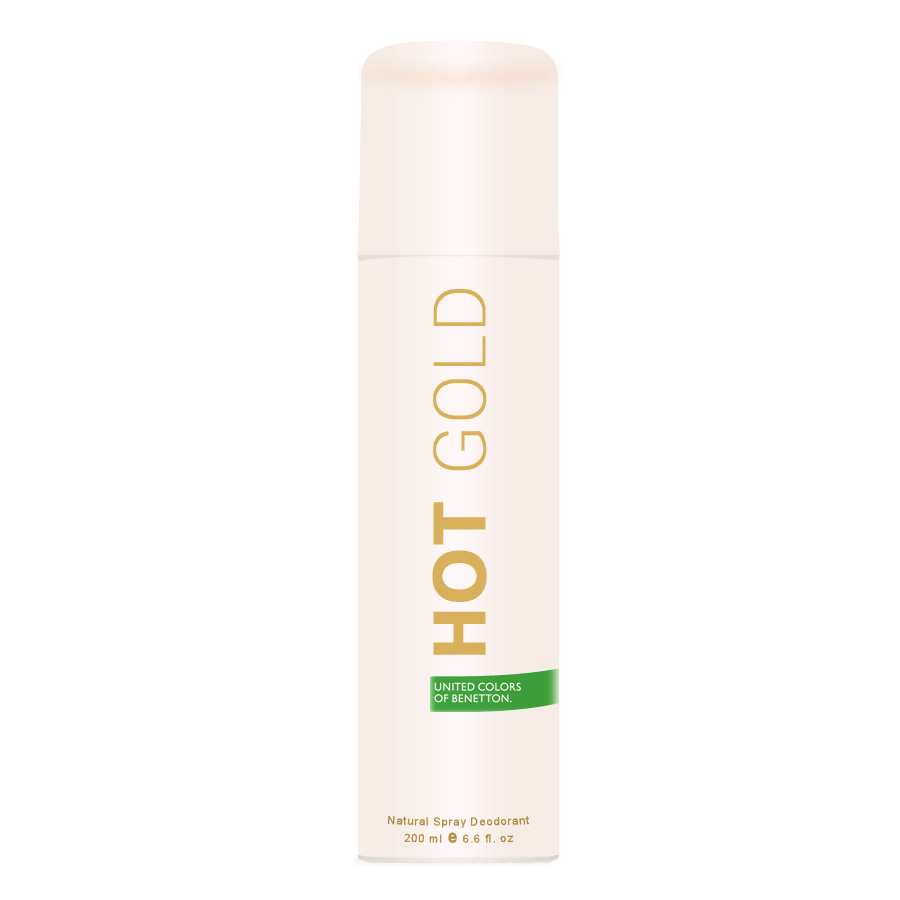 United Colors Of Benetton Hot Gold Deodorant