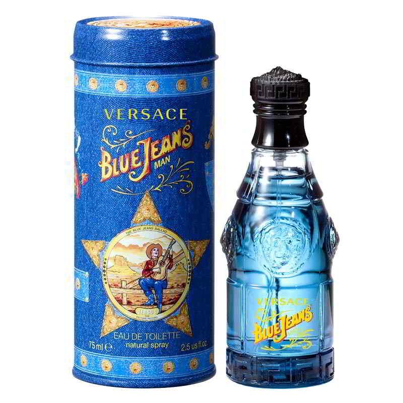 Versace Blue Jeans Man EDT Spray