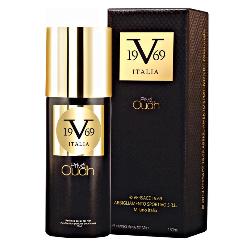 Versace V19.69 Italia Prive Oudh Deodorant Spray
