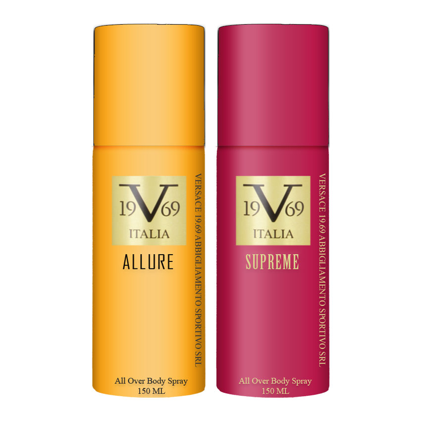 Versace V1969 Allure, Supreme Value Pack Of 2 Deodorants