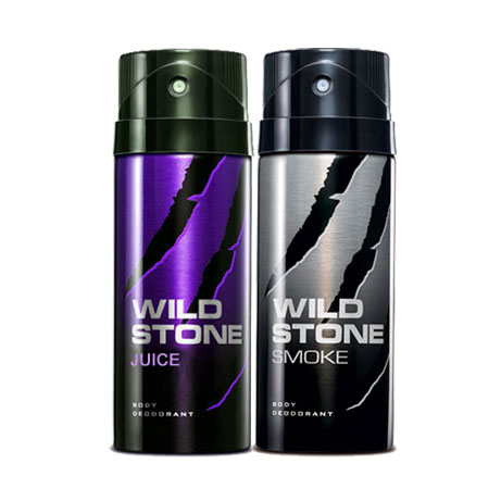 Wild Stone Smoke, Juice Pack of 2 Deodorants