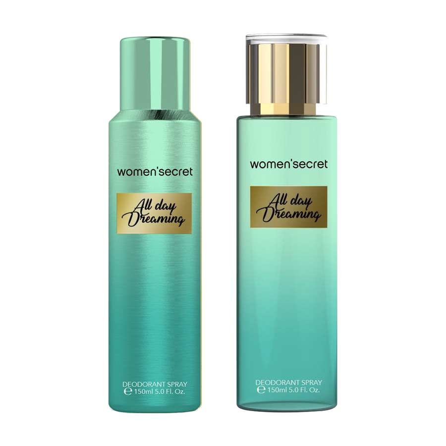 Women Secret Combo of All Day Dreaming Deodorant and Body Mist
