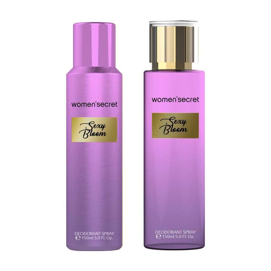 Women Secret Combo of Sexy Bloom Deodorant and Body Mist