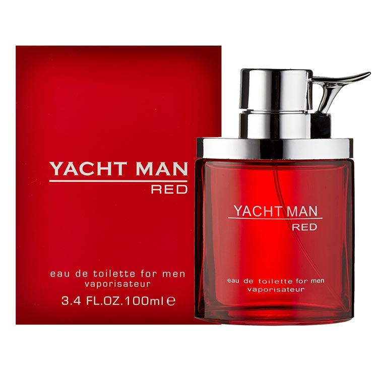 Yacht Man Red EDT Perfume