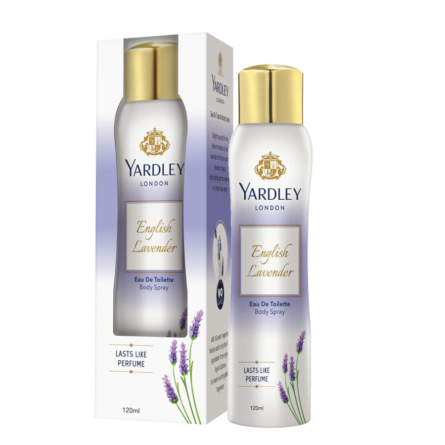 Yardley English Lavender Mist EDT Body Spray